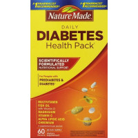 Nature Made, Daily Diabetes Health Pack - 60 Packets