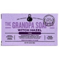 Grandpa's, Face & Body Bar Soap, Tone, Witch Hazel - 4.25 oz (120 g)