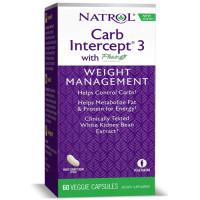 Natrol, Carb Intercept 3 - 60 Capsules