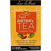 Natrol, Laci Le Beau, Super Dieter's Tea, Cinnamon Spice, 30 Tea Bags - 2.63 oz (75 g)