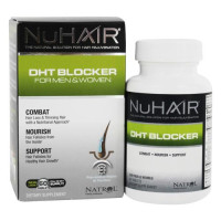 Natrol, NuHair, DHT Blocker For Men & Women - 60 Tablets