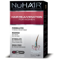 Natrol, NuHair Hair Regrowth for Women - 60 Tablets