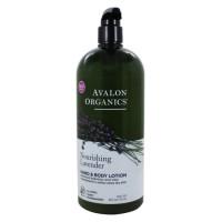 Avalon Organics, Hand & Body Lotion, Lavender - 32 oz (907 g)