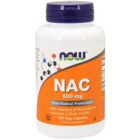 Now Foods, NAC, (N-Acetyl Cysteine), 600 mg - 100 Veggie Caps
