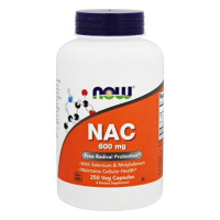 Now Foods, NAC N-Acetyl Cysteine 600 mg - 250 Vcaps