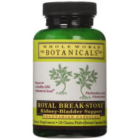 Whole World Botanicals, Royal Break-Stone, Kidney-Bladder Support, 400 mg - 120 Veggie Cap