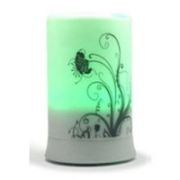 BriteLeafs, Ultrasonic Aromatherapy Aroma Diffuser Humidifier with 4 Timer Settings 6 Colo