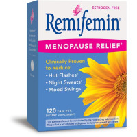 Enzymatic Therapy, Remifemin Estrogen-Free Menopause Relief - 120 Tablets