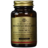 Solgar, Sublingual Methylcobalamin (Vitamin B12), 1000 mcg - 60 Nuggets