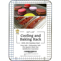 Ultra Cuisine, 100% Stainless Steel Thick Wire Cooling & Baking Rack  (8.5