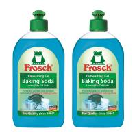 Frosch, Natural Baking Soda Liquid Hand Dish Washing Soap, 500 ml - Pack of 2