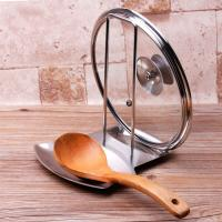 iPstyle, Pan Lid Holder Progressive Lid and Spoon Rest Shelf 304 Stainless Steel Pan Lid O