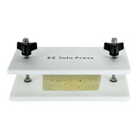 EZ Tofu Press, Removes Water from Tofu for Better Flavor and Texture.