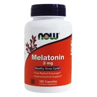 NOW Foods, Melatonin 3 mg - 180 Capsules