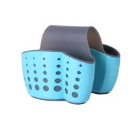 Eunion, Sink Saddle Caddy Holder (Sponge, Soap) - Blue