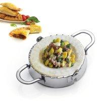 BestUtensils, Stainless Steel Ravioli mould (Ravioli ,Pierogi, Empanada, Dumpling) - L- 4.