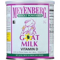 Meyenberg, Whole Powdered Goat Milk, Vitamin D - 12 Ounce