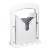 LTB, Hoan Bagel Guillotine Slicer, White