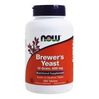 Now Foods, Brewer's Yeast, 650 mg - 200 Tablets