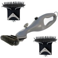 Grill Daddy, Safety-Clean Pack Steam Bbq Brush