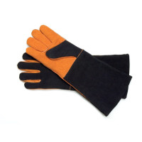 SRBB, Extra Long Suede Barbecue Grill Gloves (Pair)