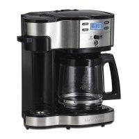 Hamilton Beach, Single Serve Coffee Brewer and Full Pot Coffee Maker