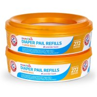 Munchkin, Arm and Hammer Diaper Pail Refill Rings - 544 Count