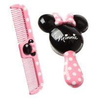 Disney, Minnie Brush and Comb Set