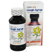 NatraBio, Children's Cough Syrup, Yummy Cherry Berry Flavor - 4 fl oz (120 ml)