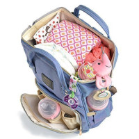 Hip Traveler, Travel diaper bag/backpack with multi-function storage