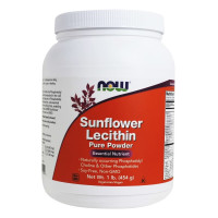 Now Foods, Sunflower Lecithin, Pure Powder - 1 lb (454 g)