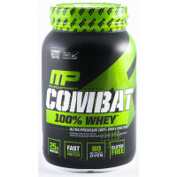 MusclePharm, 100% Combat Whey Protein, Strawberry - 80 oz (2269 g)