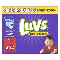 Luvs, Ultra Leakguards Diapers (Size 1 ~ 6)