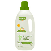BabyGanics, Loads of Love 3x Concentrated Laundry Detergent, Unscented - 35 Fluid Ounce Bo
