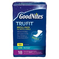 GoodNites, TRU-FIT Disposable Absorbent Inserts for Boys & Girls, Refill Pack, (16~18 ct)