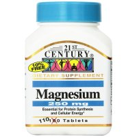 21st Century, Magnesium, 250 mg - 110 Tablets