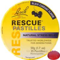 Bach, Original Flower Remedies, Rescue Pastilles, Natural Stress Relief, Black Currant Fla