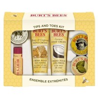 Burt's Bees, Tips and Toes Kit - 6 Travel Size Products