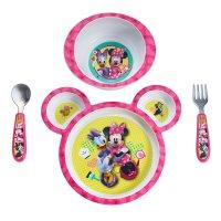 TFY, Disney Baby Minnie Mouse 4-Piece Feeding Set
