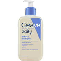 CeraVe, Baby Wash and Shampoo with Essential Ceramides and Vitamins - 8 oz.