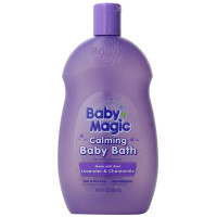 Baby Magic, Calming Baby Bath, Lavender and Chamomile - 16.5 Ounces