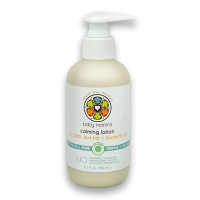 Baby Mantra, Natural Calming Baby Lotion with Shea Butter and Lavender Oil - 6.3 Ounce