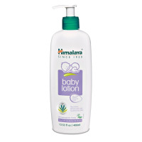 Himalaya, Baby Lotion, Oils of Almond & Olive - 13.53 fl oz (400 ml)