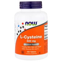 Now Foods, L-Cysteine, 500 mg - 100 Tablets