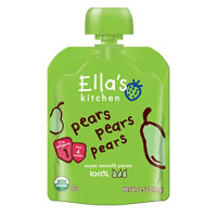 Ella's Kitchen, Stage 1, Organic Super Smooth Puree - 2.5 Ounce (Pack of 6)
