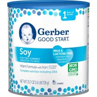 Gerber, Good Start Soy Non-GMO Powder Infant Formula, Stage 1 - 25.7 Ounce