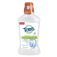Tom's of Maine, Children's Anticavity Fluoride Rinse, Juicy Mint - 16 Ounce  (473 ml)