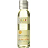 Nature's Baby Organics, Organic Massage & Baby Oil, Mandarin Coconut - 4 oz (113.4 g)