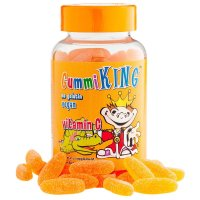 Gummi King, Vitamin C for Kids, Natural Orange Flavor -  60 Gummies