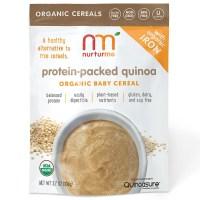 NurturMe, Protein-Packed Quinoa Organic Baby Cereal - 3.7 oz (104 g)